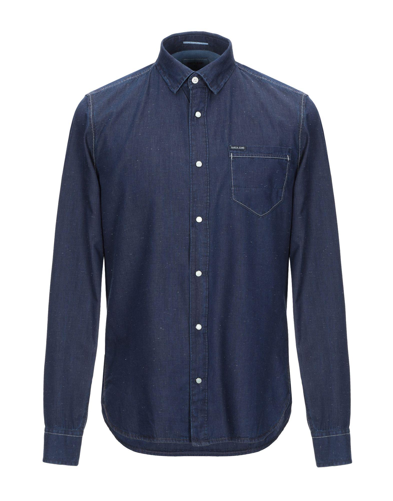 GARCIA Джинсовая рубашка цена