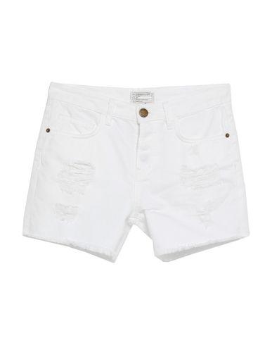 Купить Джинсовые шорты белого цвета
