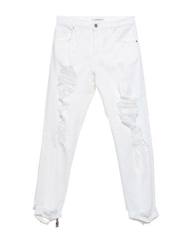 Купить Джинсовые брюки от DON THE FULLER белого цвета