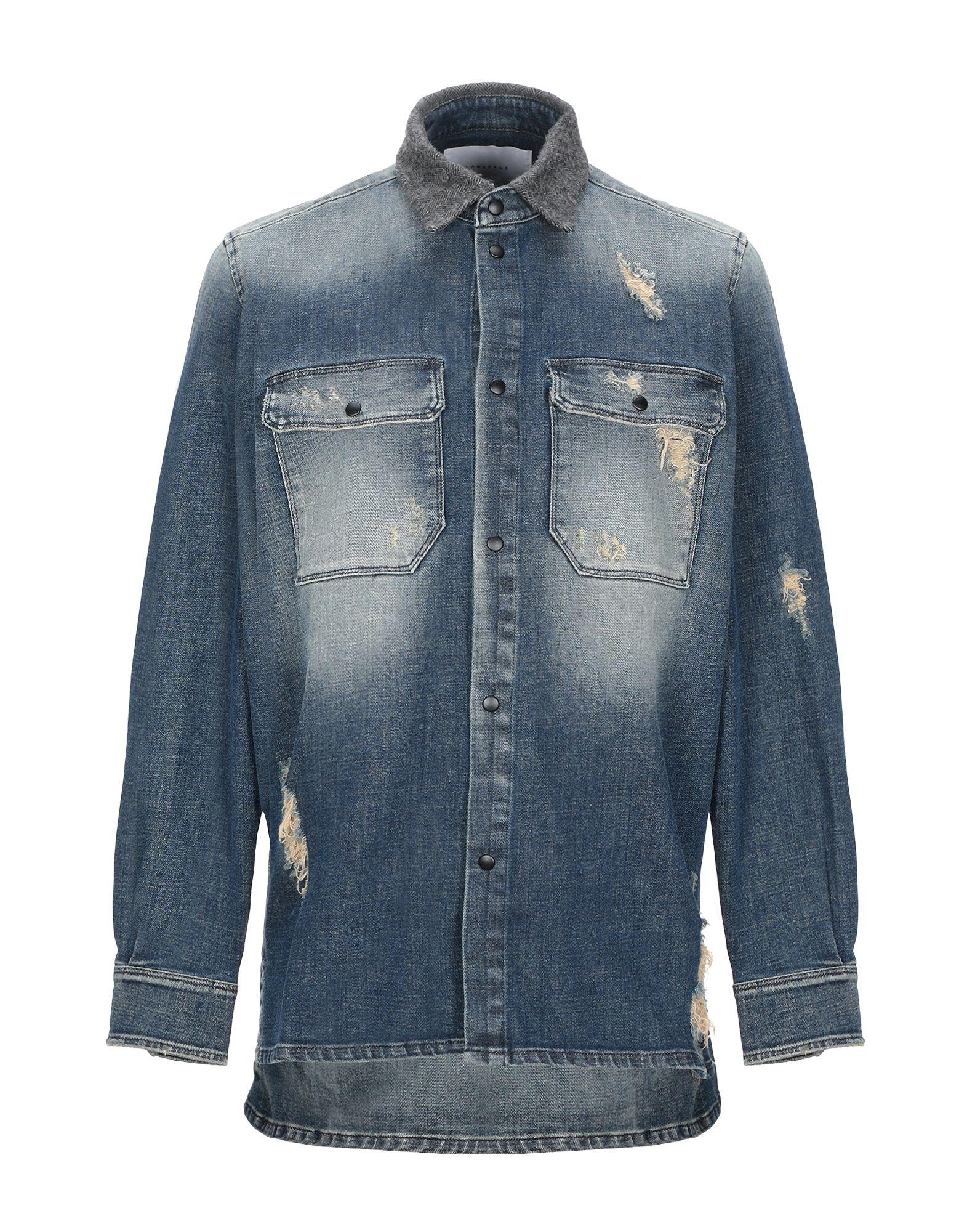 LOW BRAND Джинсовая рубашка low brand джинсовая рубашка