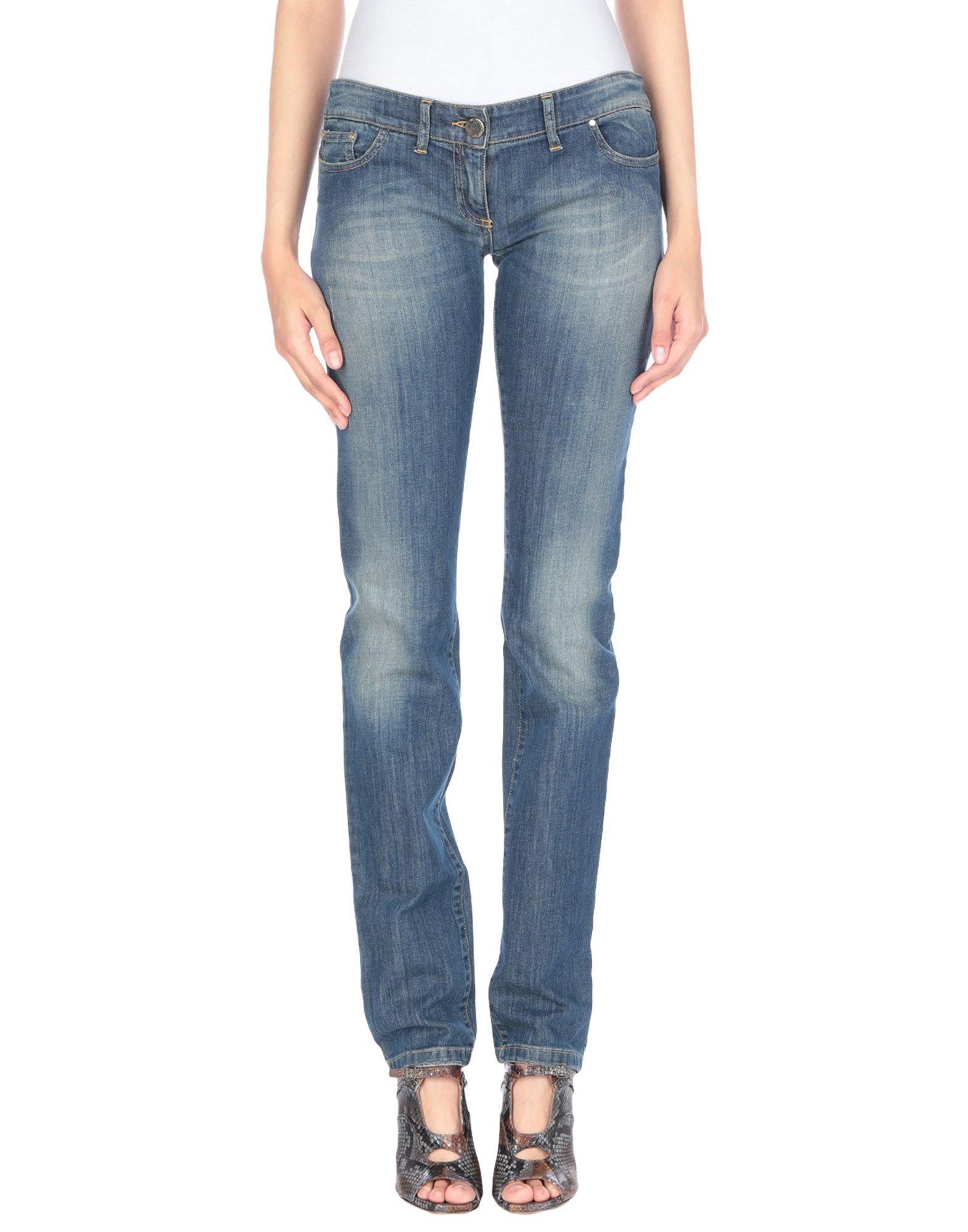 ELISABETTA FRANCHI JEANS for CELYN B. Джинсовые брюки elisabetta franchi jeans for celyn b брюки капри