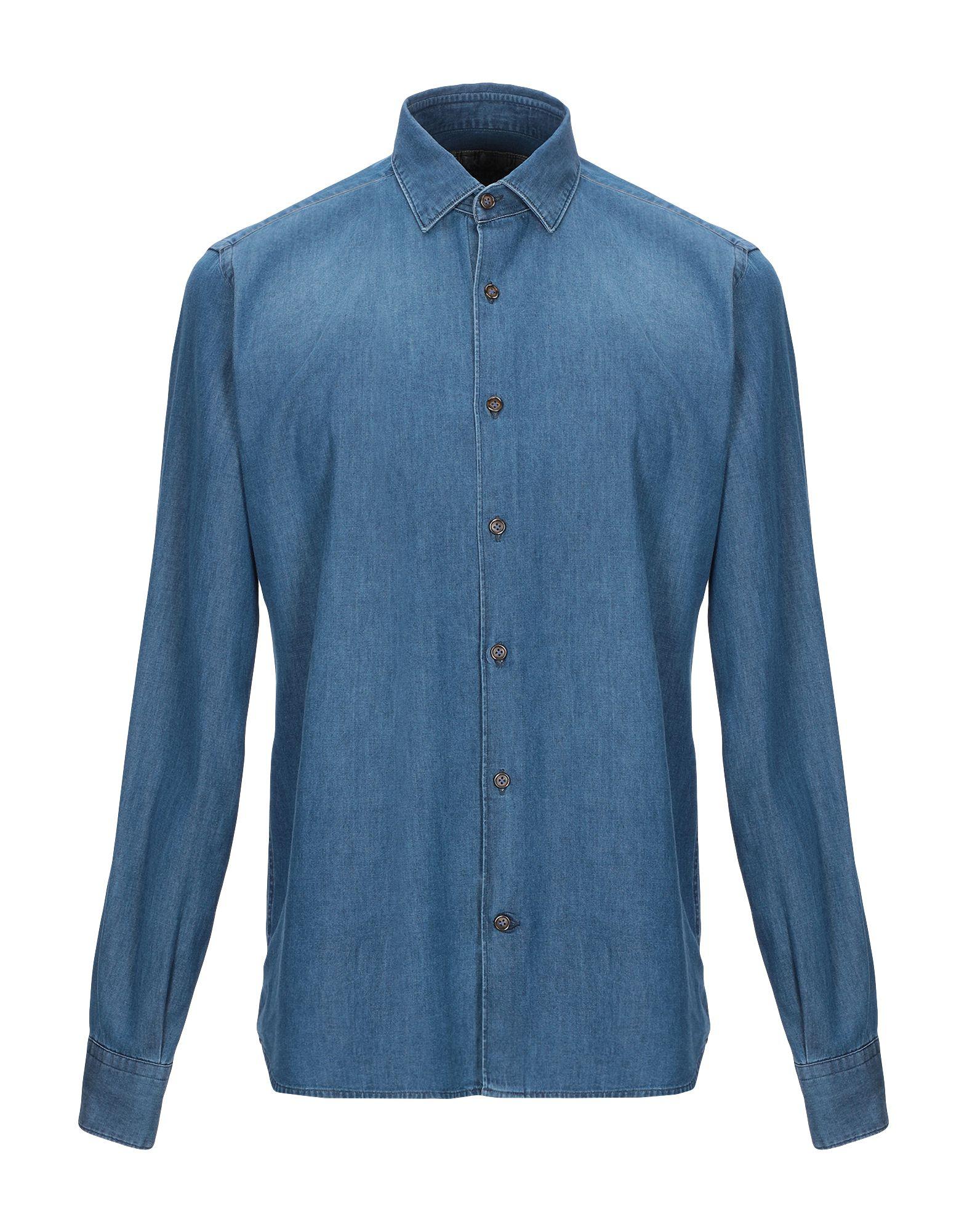 DOMENICO TAGLIENTE Джинсовая рубашка burberry джинсовая рубашка