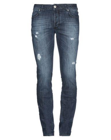 Фото - Джинсовые брюки от MASSIMO BRUNELLI синего цвета