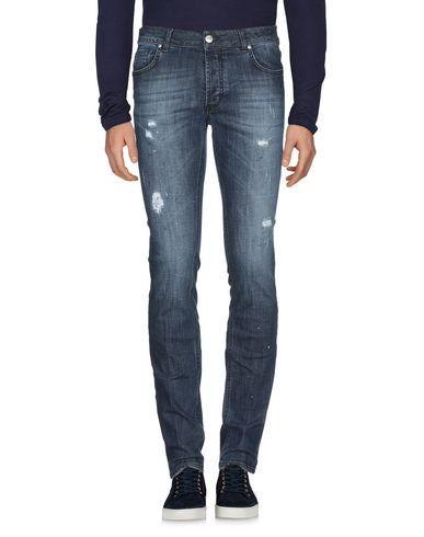 Фото 2 - Джинсовые брюки от MASSIMO BRUNELLI синего цвета