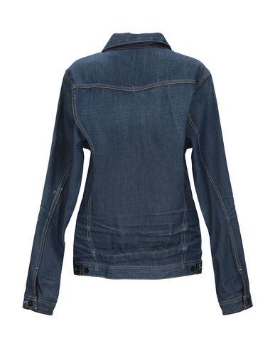 Фото 2 - Джинсовая верхняя одежда синего цвета