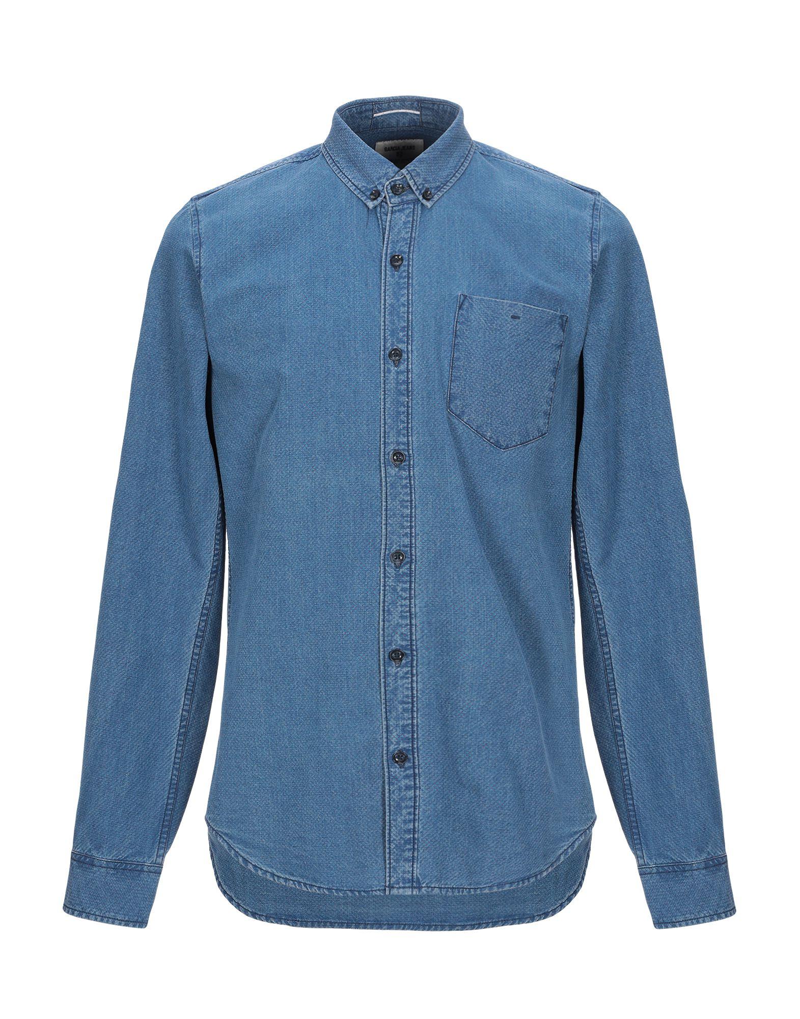 GARCIA JEANS Джинсовая рубашка garcia jeans джинсовая рубашка