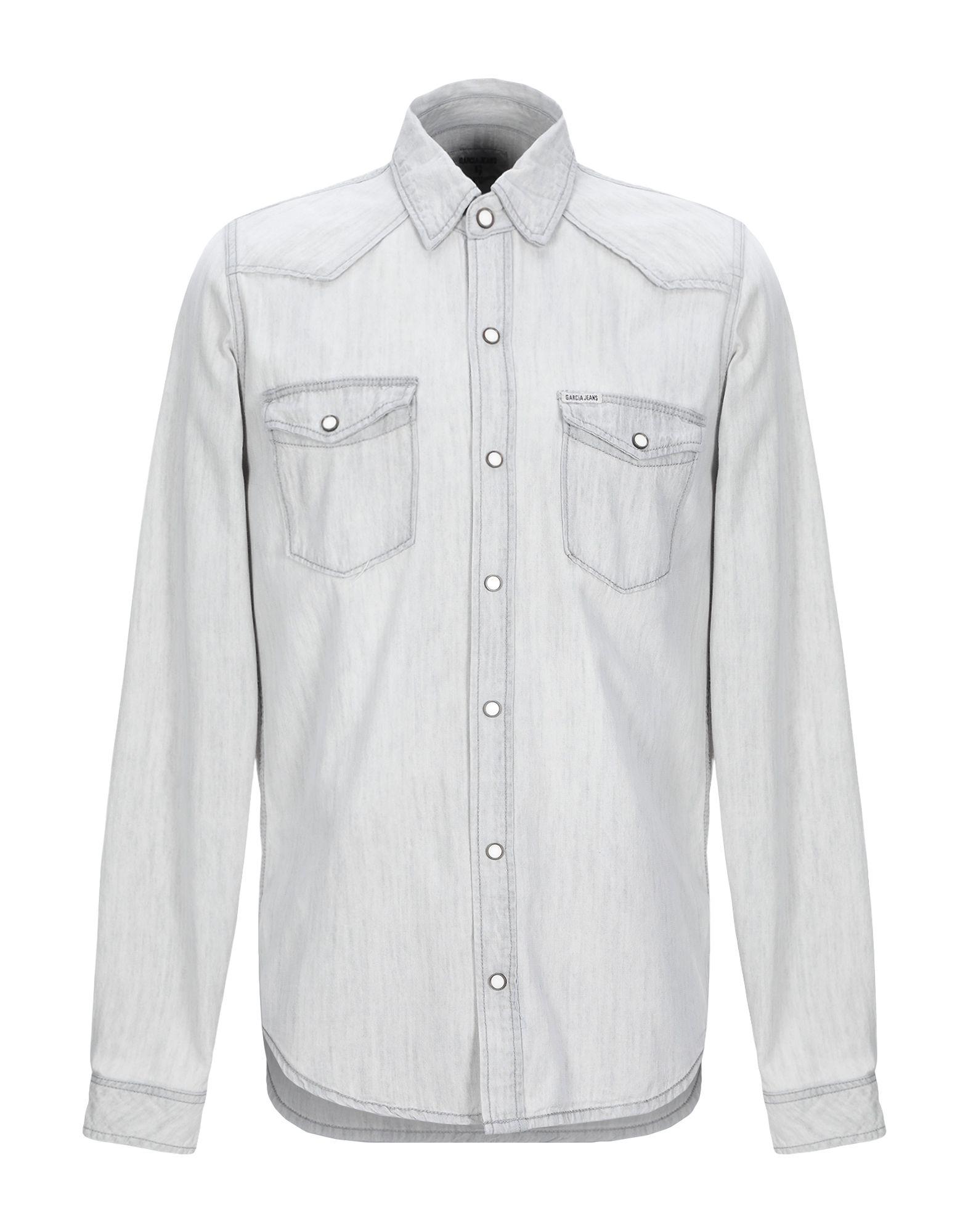 GARCIA Джинсовая рубашка burberry джинсовая рубашка
