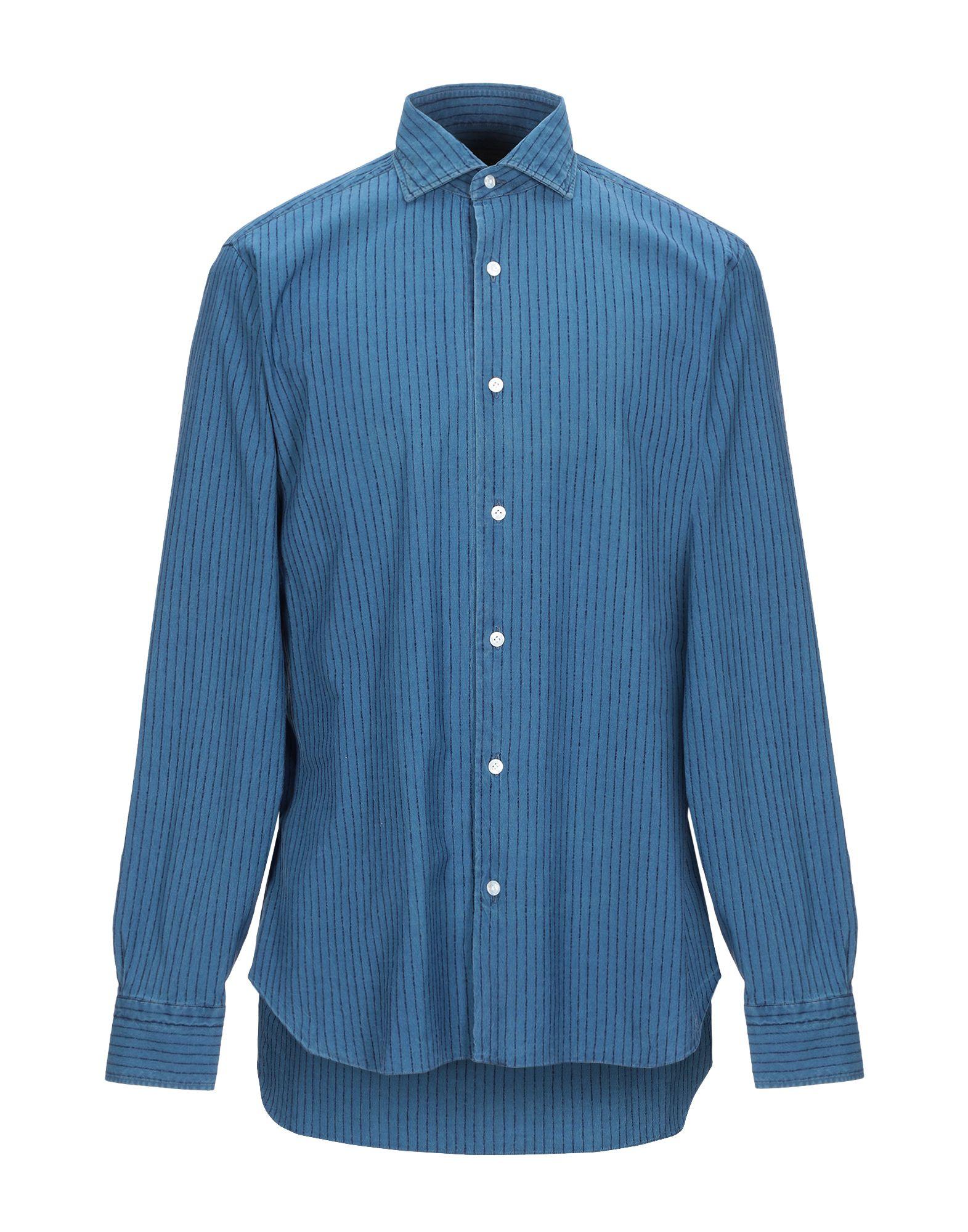 DANDYLIFE by BARBA Джинсовая рубашка theory джинсовая рубашка