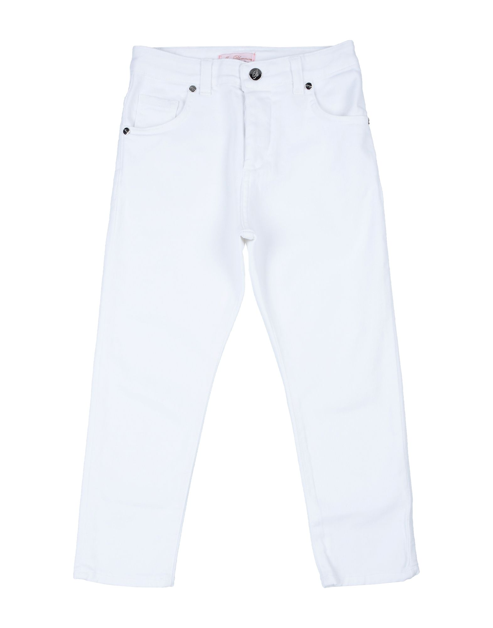BLUMARINE | MISS BLUMARINE Denim Pants 42751231 | Goxip