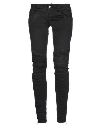 Фото - Джинсовые брюки от BAD SPIRIT черного цвета