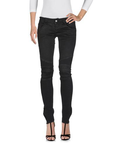 Фото 2 - Джинсовые брюки от BAD SPIRIT черного цвета