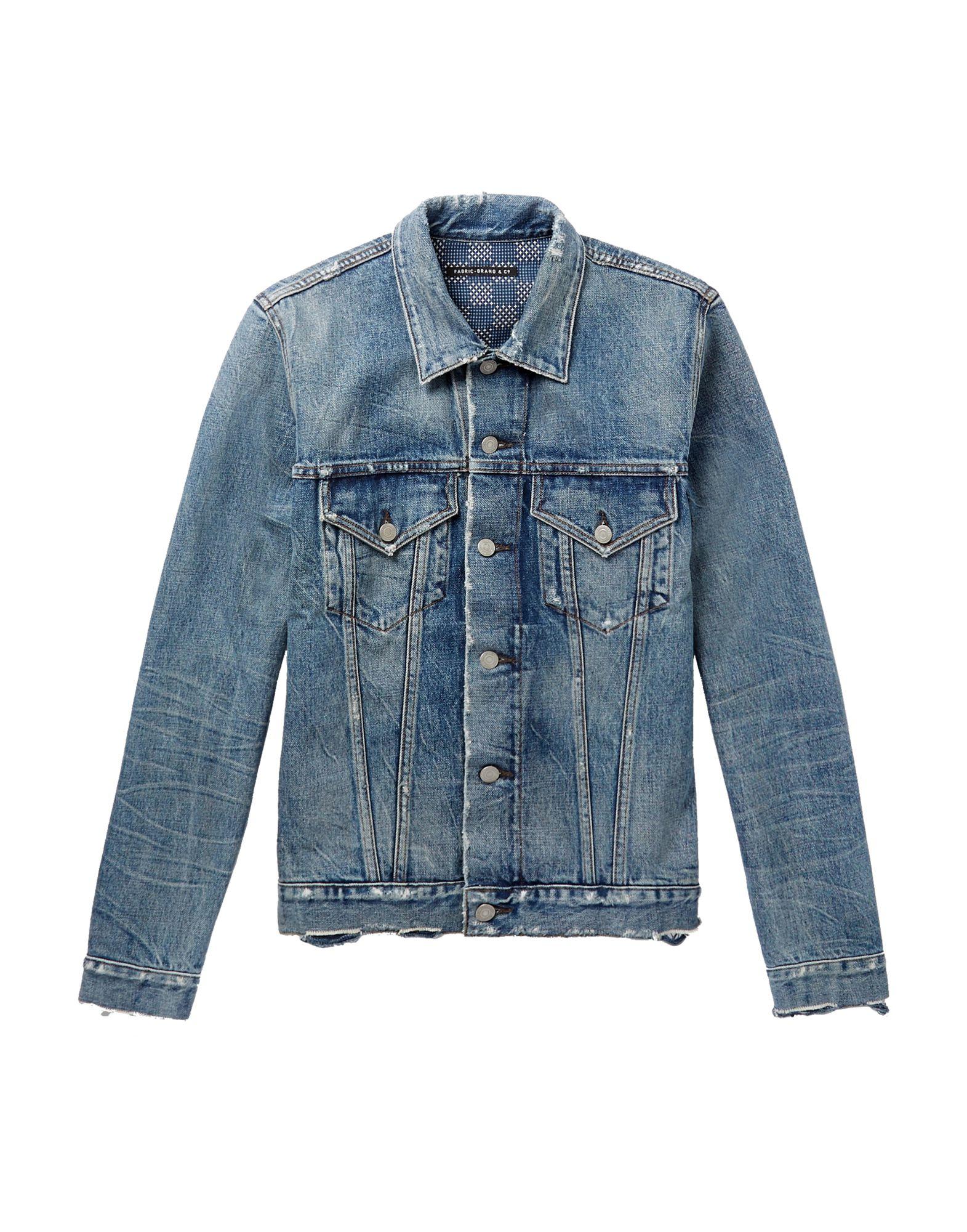 FABRIC-BRAND & CO. Джинсовая верхняя одежда
