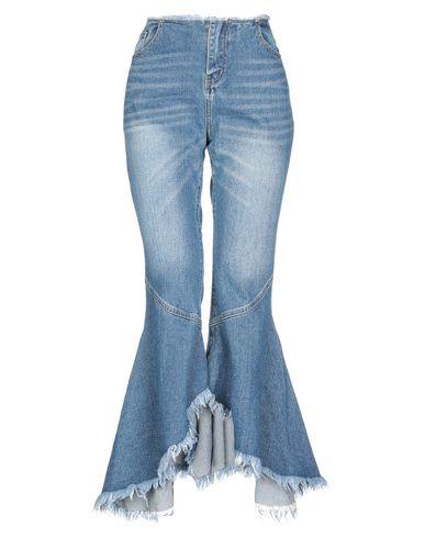 Фото - Джинсовые брюки от JOVONNA синего цвета