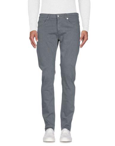 Фото 2 - Джинсовые брюки от NINE:INTHE:MORNING серого цвета