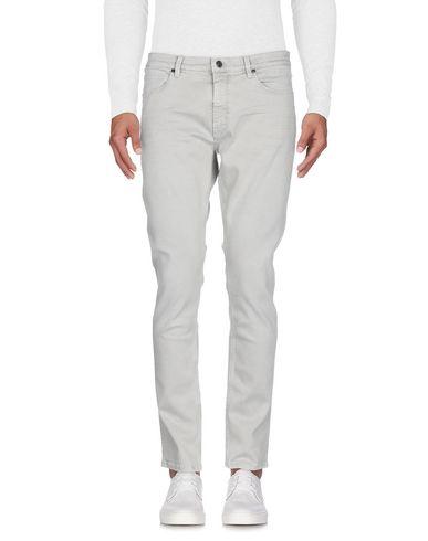 Фото 2 - Джинсовые брюки светло-серого цвета