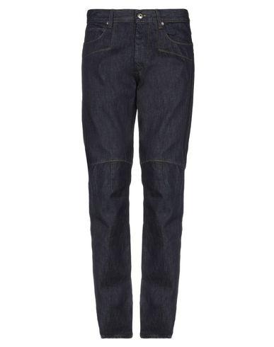 Фото - Джинсовые брюки от ERMANNO DI ERMANNO SCERVINO синего цвета