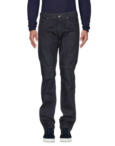 Фото 2 - Джинсовые брюки от ERMANNO DI ERMANNO SCERVINO синего цвета