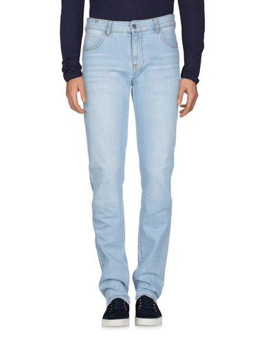 Фото 2 - Джинсовые брюки от ATELIER NOTIFY синего цвета