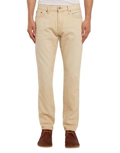 Фото 2 - Джинсовые брюки от JEAN SHOP бежевого цвета
