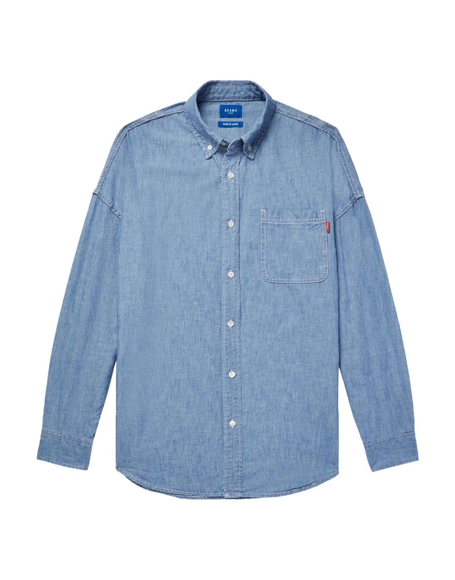 BEAMS Джинсовая рубашка