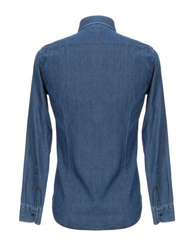 Фото 2 - Джинсовая рубашка от LIBERTY ROSE синего цвета