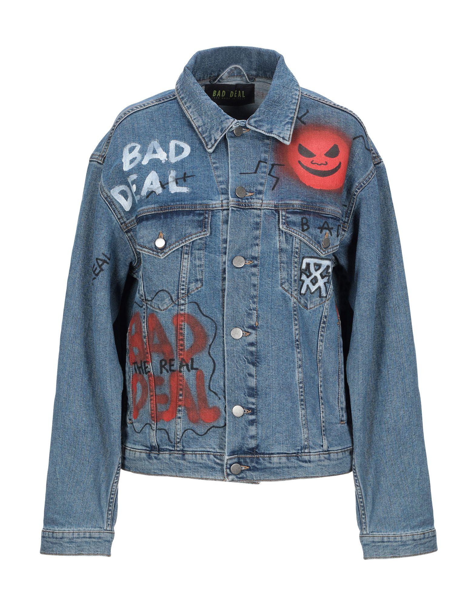 BAD DEAL Джинсовая верхняя одежда bad deal толстовка