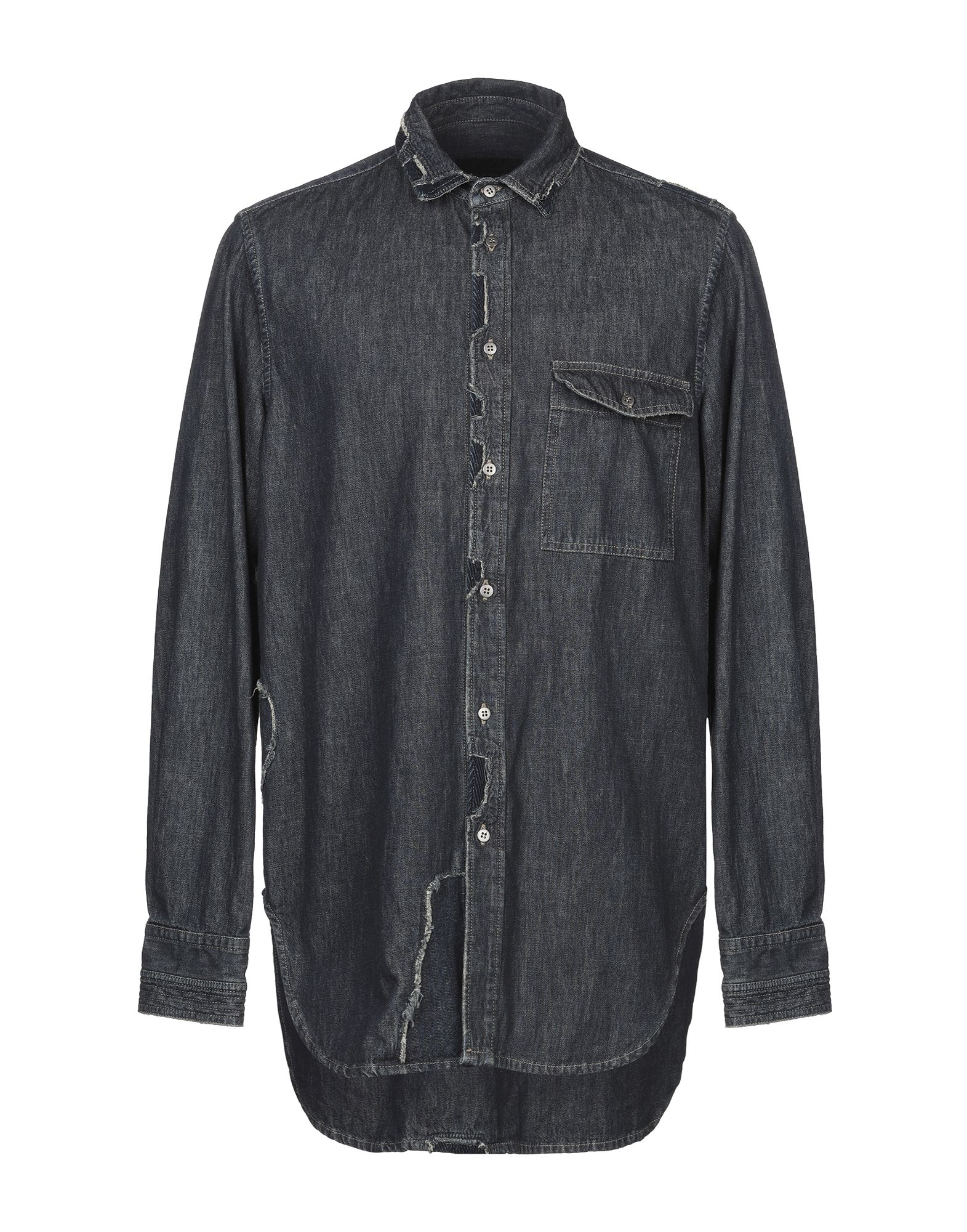 DIESEL BLACK GOLD Джинсовая рубашка цена 2017