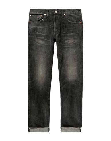 Фото - Джинсовые брюки от RRL by RALPH LAUREN черного цвета