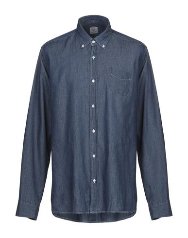 Фото - Джинсовая рубашка от R3D WÖÔD синего цвета