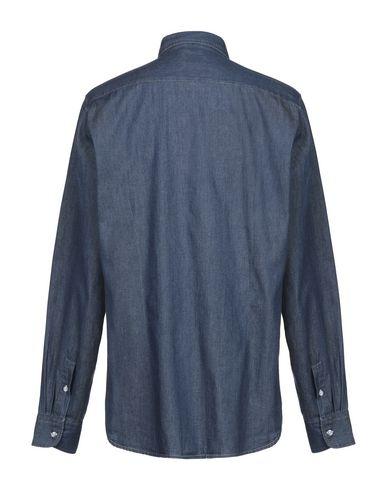 Фото 2 - Джинсовая рубашка от R3D WÖÔD синего цвета