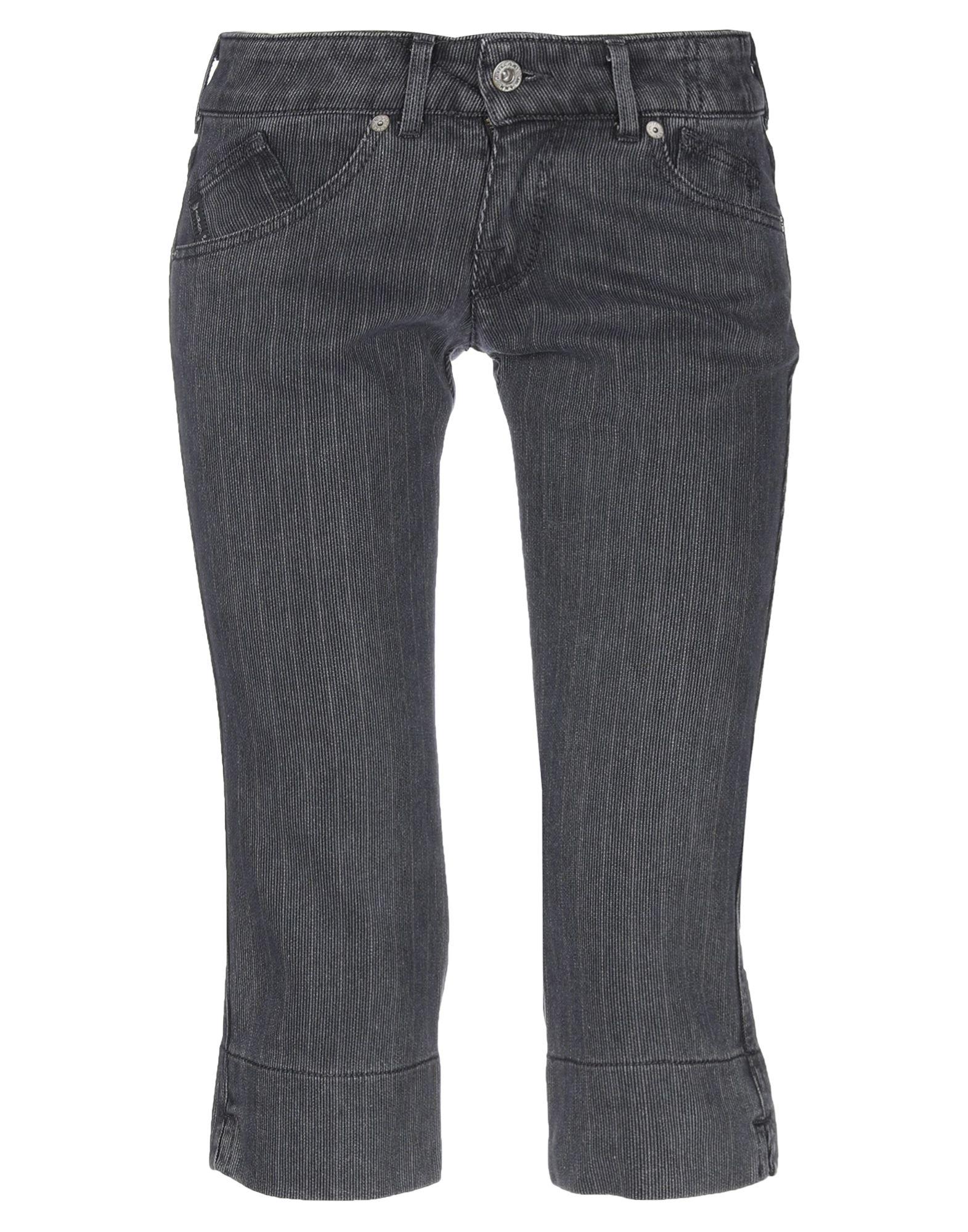 цены на ARMANI JEANS Джинсовые брюки-капри  в интернет-магазинах