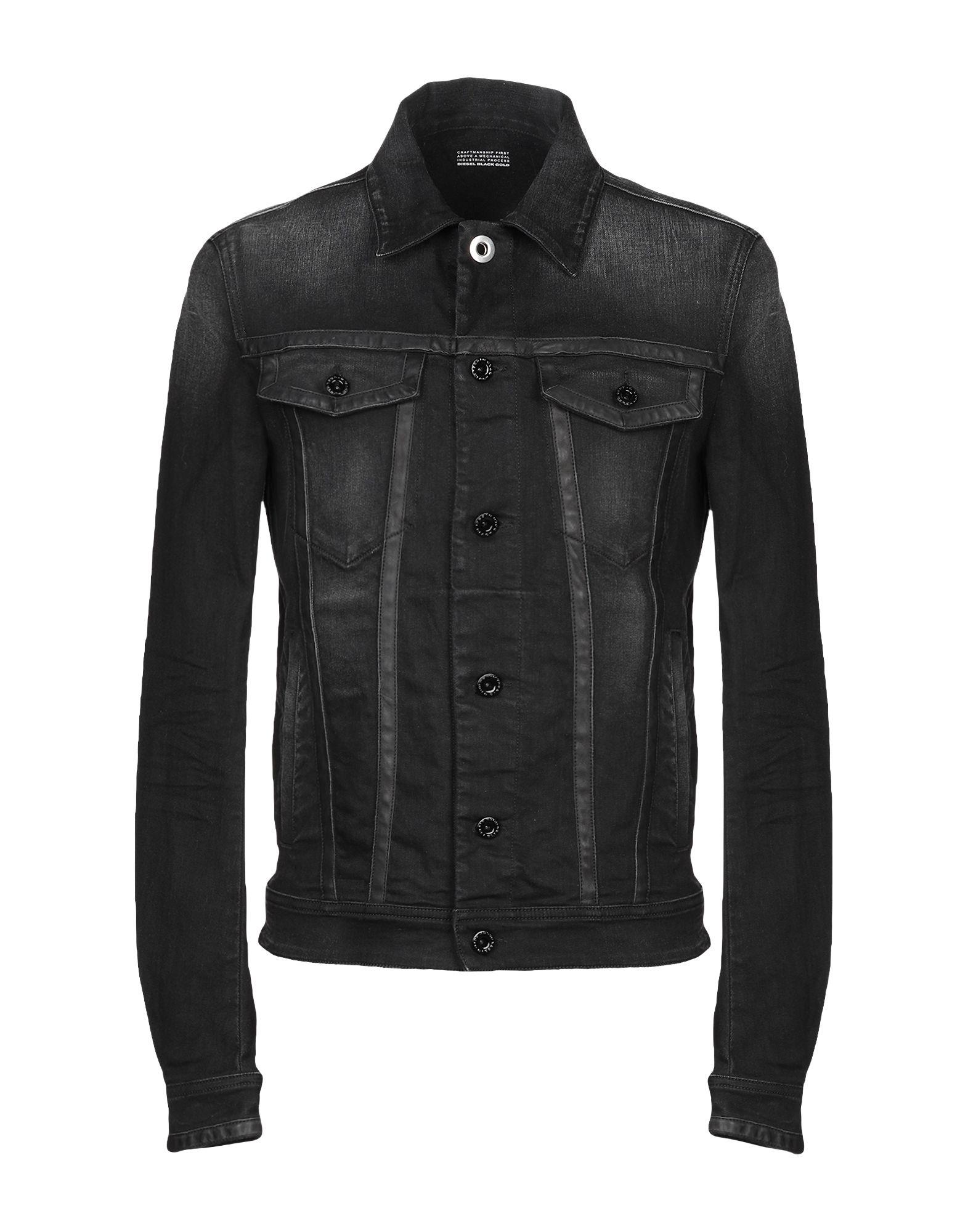DIESEL BLACK GOLD Джинсовая верхняя одежда цена