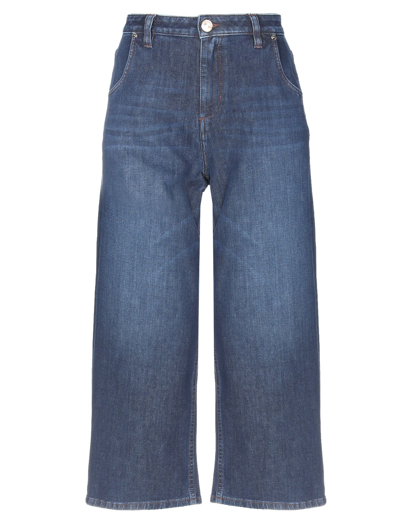 TRUSSARDI JEANS Джинсовые брюки-капри trussardi jeans брюки капри