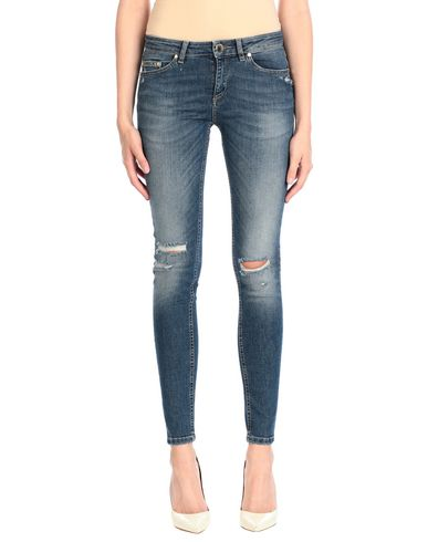 Фото 2 - Джинсовые брюки от NO LAB синего цвета