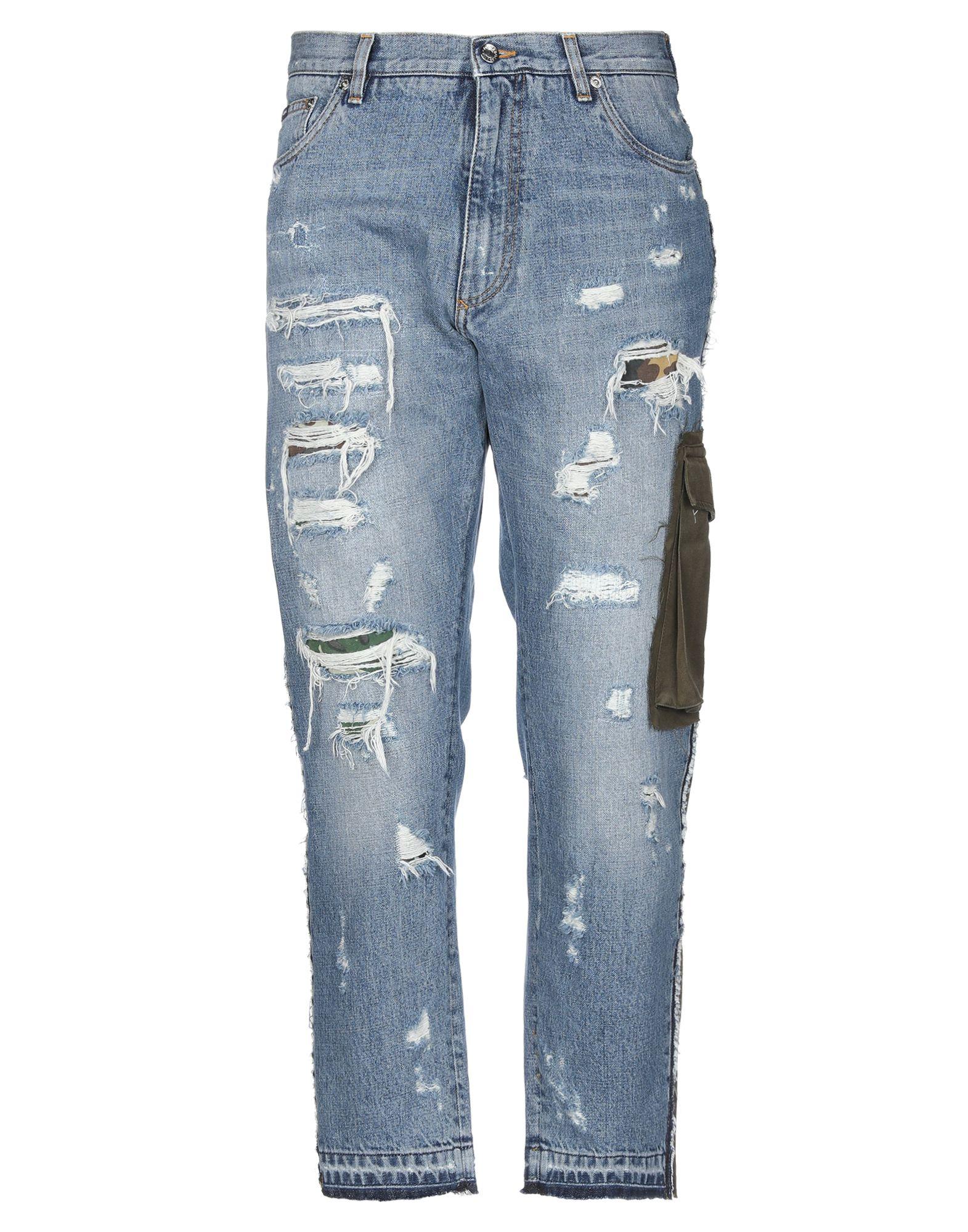 DOLCE & GABBANA Denim pants - Item 42753577