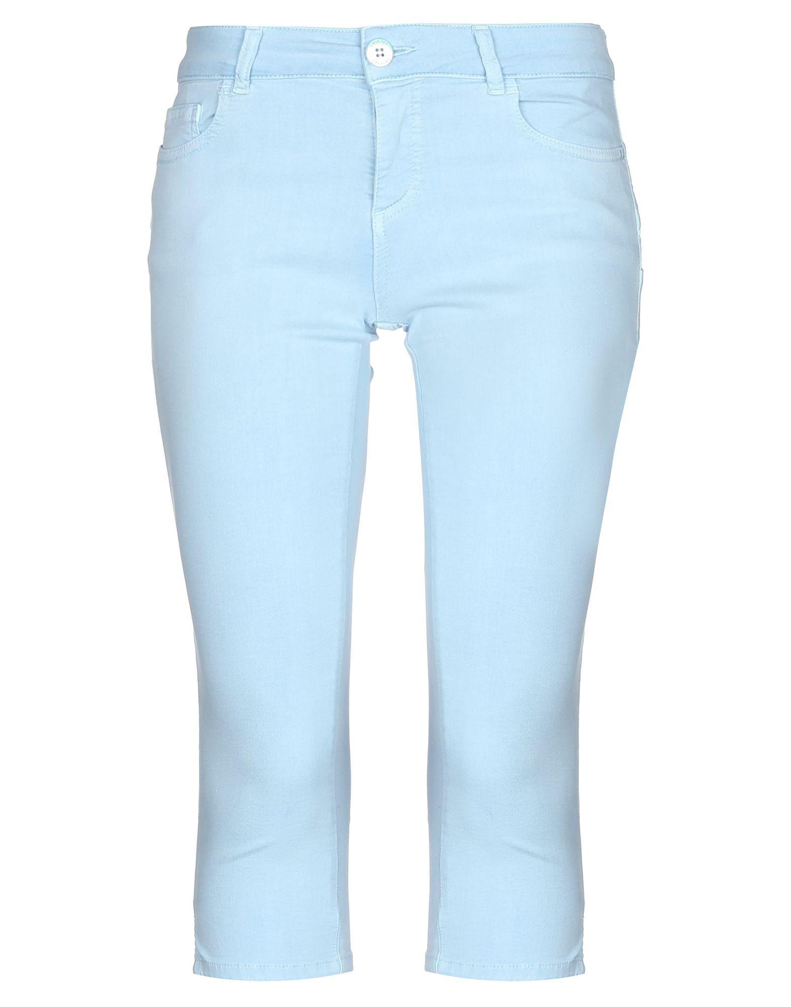 TWINSET Джинсовые брюки-капри все цены