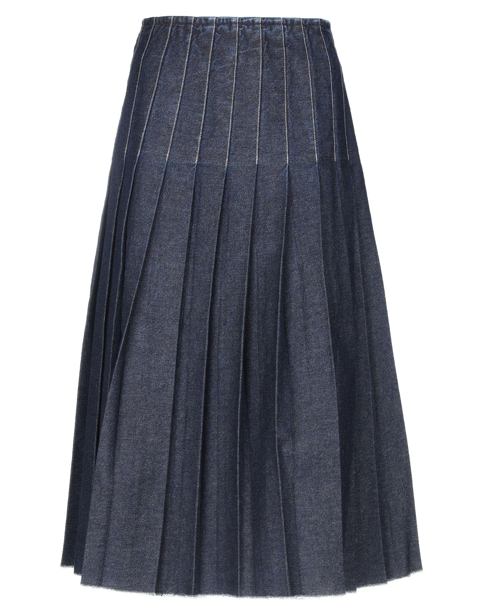 цены на PRINGLE OF SCOTLAND Джинсовая юбка  в интернет-магазинах