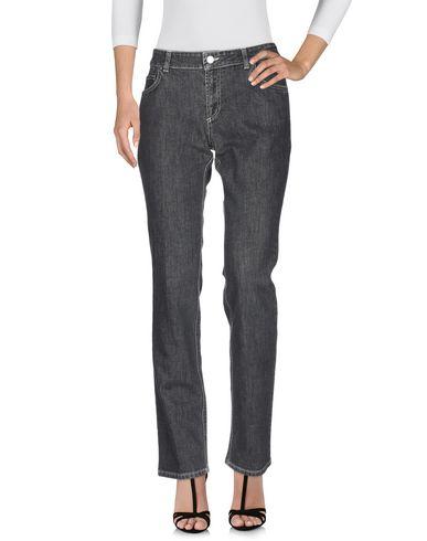 Фото 2 - Джинсовые брюки от KITON черного цвета