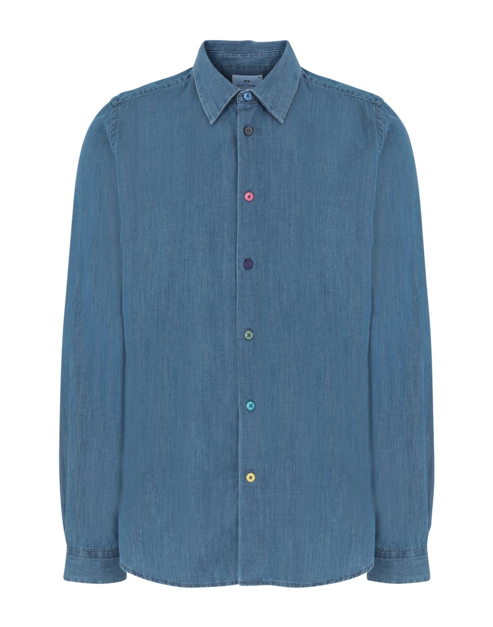 PS PAUL SMITH Джинсовая рубашка фото