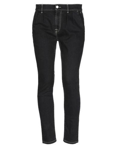 Фото - Джинсовые брюки от KITON черного цвета