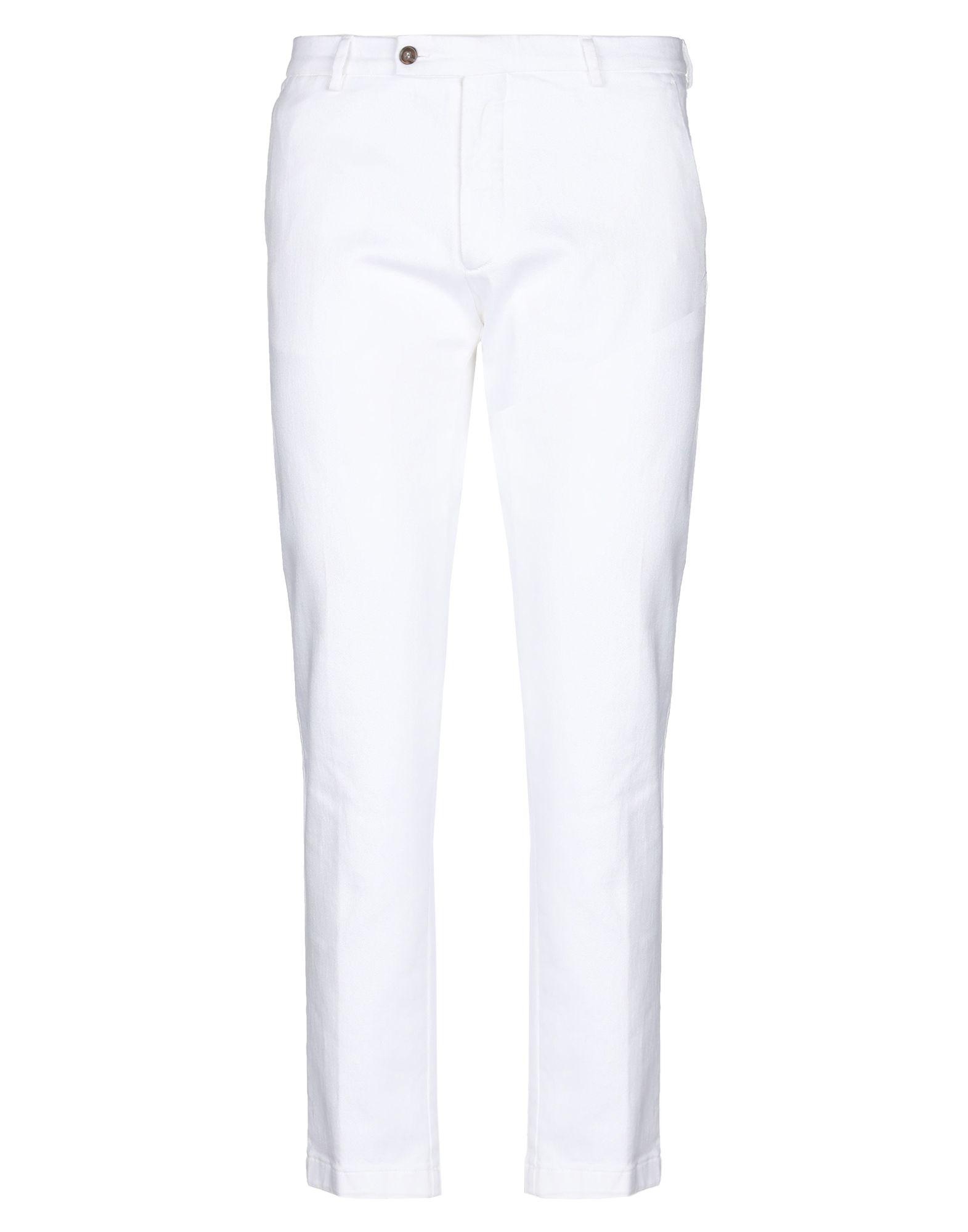《セール開催中》BERWICH メンズ ジーンズ ホワイト 52 コットン 98% / ポリウレタン 2%