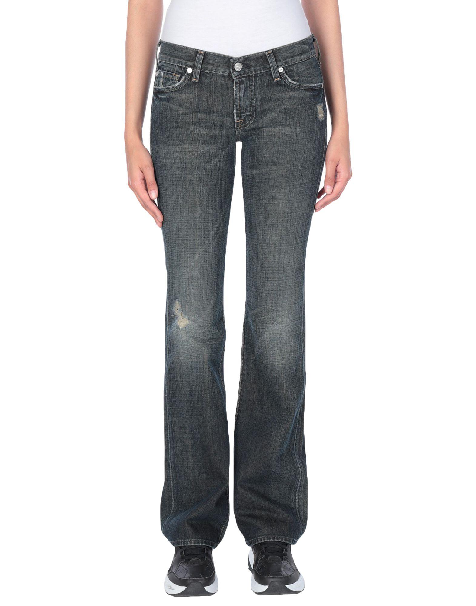 7 FOR ALL MANKIND Джинсовые брюки недорго, оригинальная цена