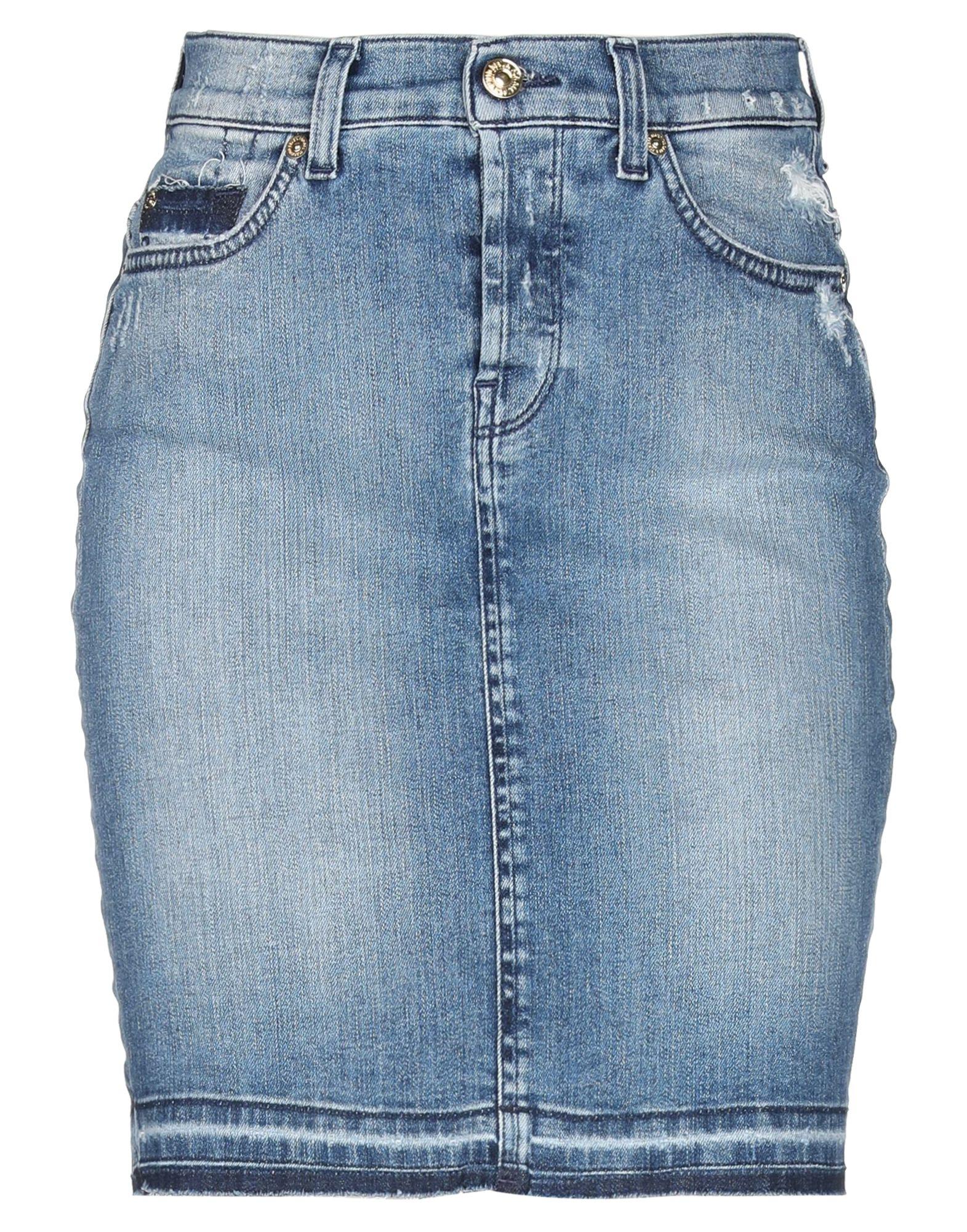 7 FOR ALL MANKIND Джинсовая юбка недорго, оригинальная цена