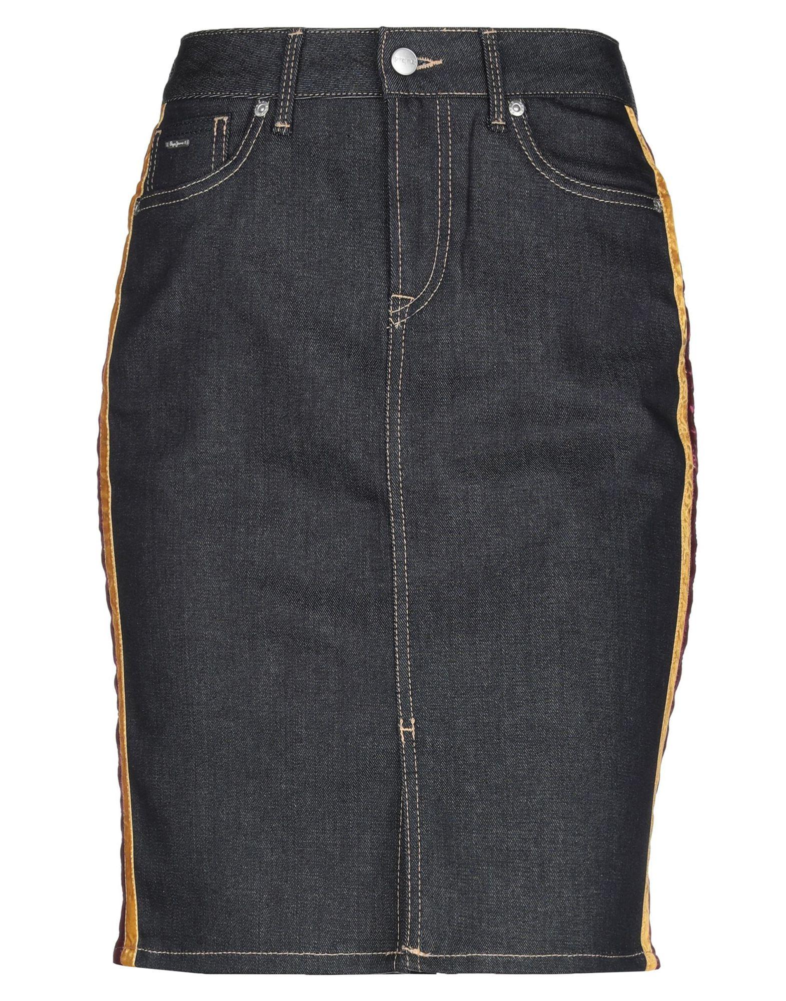 PEPE JEANS Джинсовая юбка юбка pepe jeans pepe jeans pe299ewdhgk8