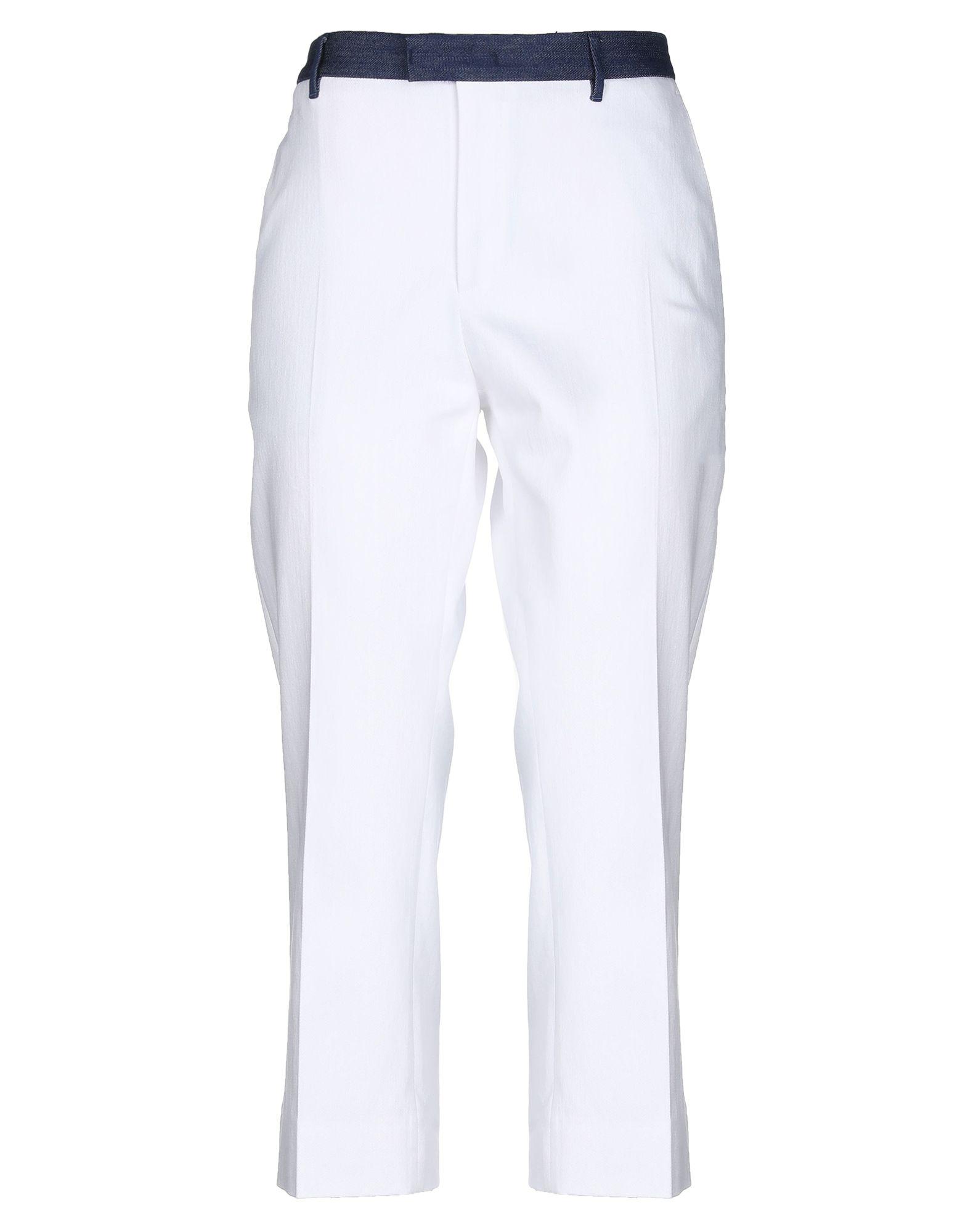 цены на PT01 Джинсовые брюки-капри  в интернет-магазинах