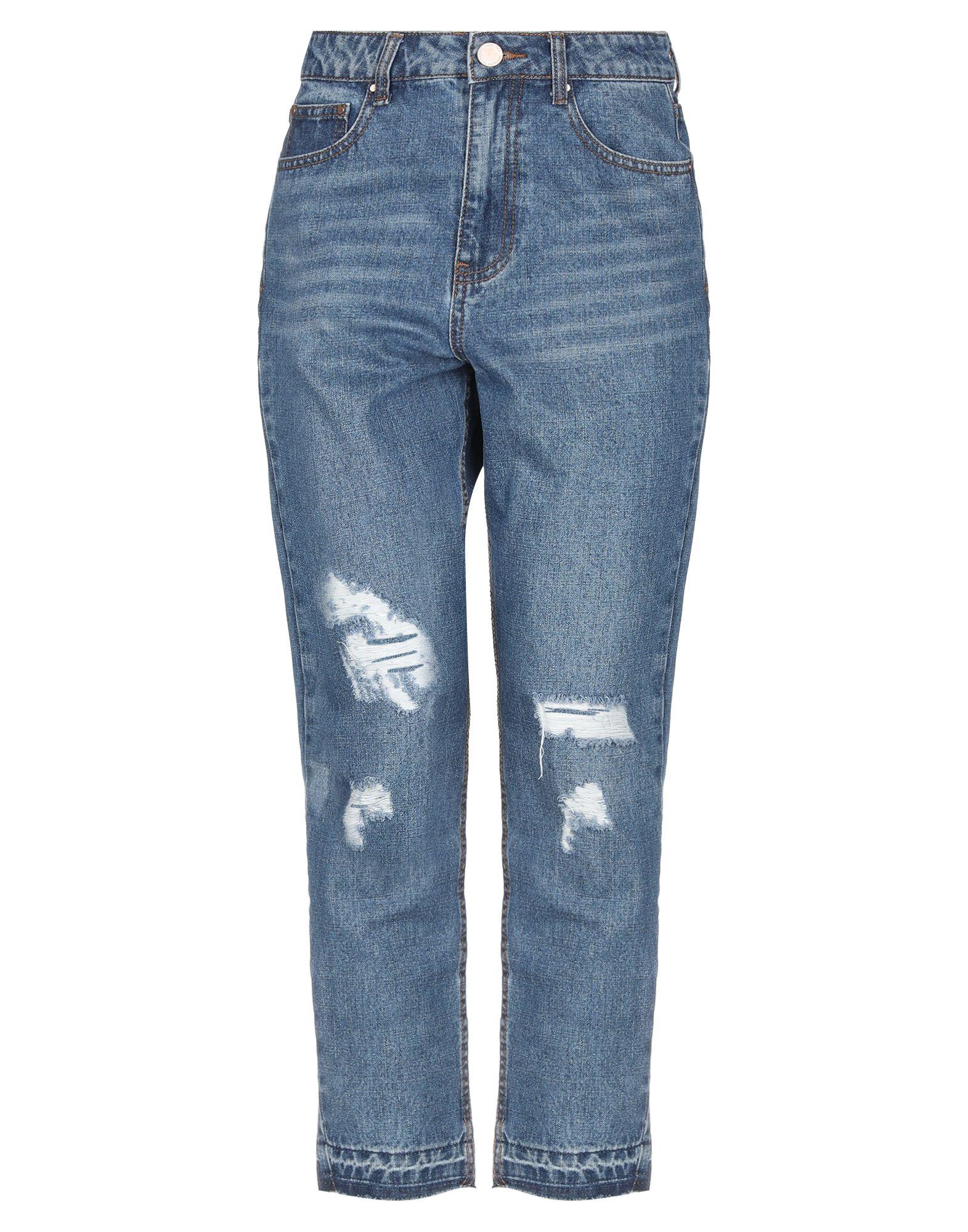 LOST INK Джинсовые брюки брюки lost ink lost ink lo019ewvso35