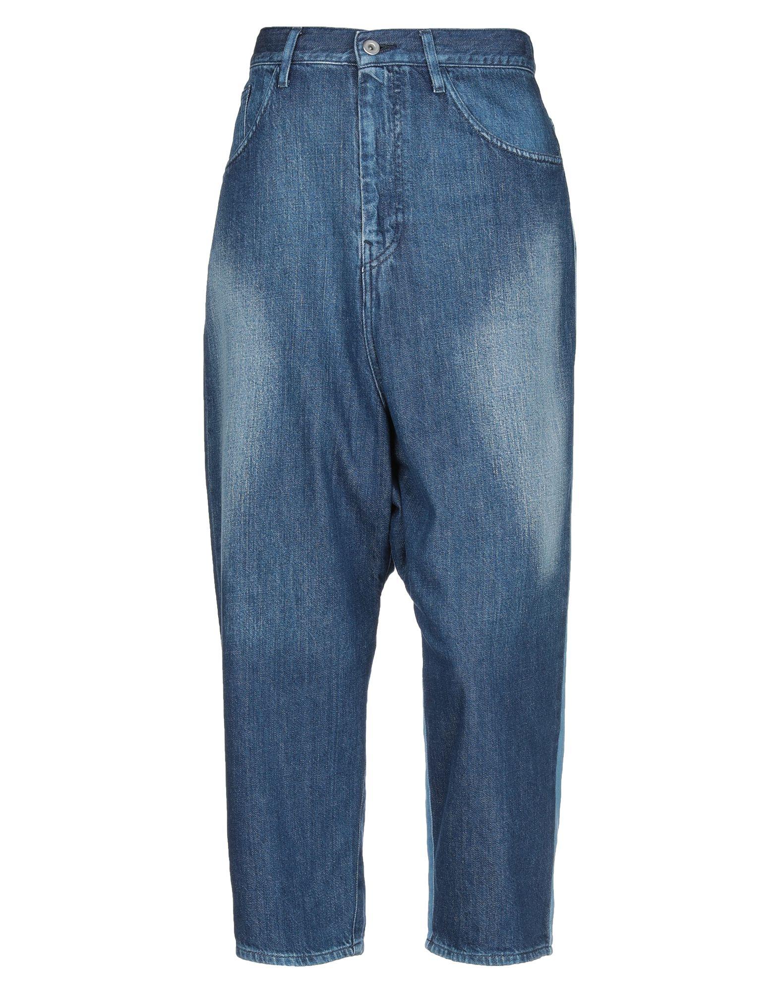 Y'S YOHJI YAMAMOTO Джинсовые брюки-капри