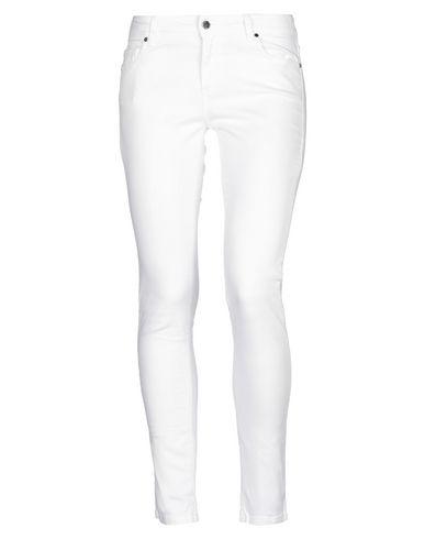 Купить Джинсовые брюки от MADE WITH LOVE белого цвета