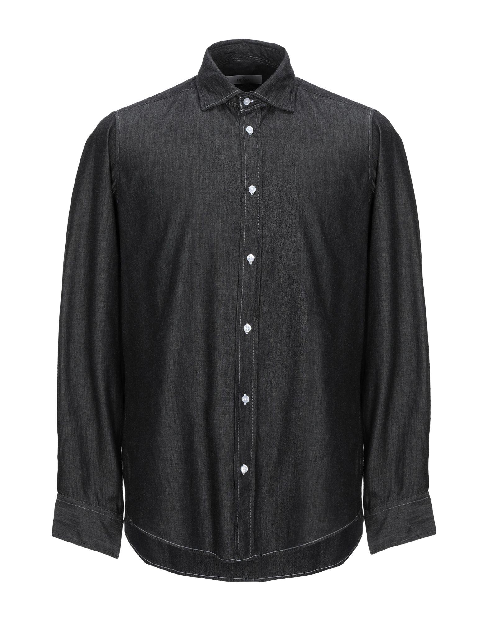 J.W. SAX Milano Джинсовая рубашка j w sax milano бермуды