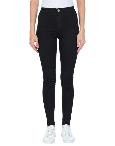 Фото - Джинсовые брюки от LOST INK черного цвета